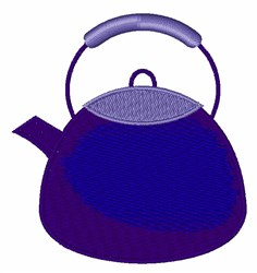 Tea Pot embroidery design