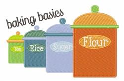 Baking Basics embroidery design
