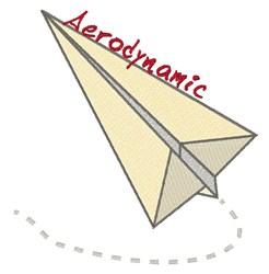 Aerodynamic Paper embroidery design