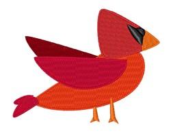 Cardinal Bird embroidery design