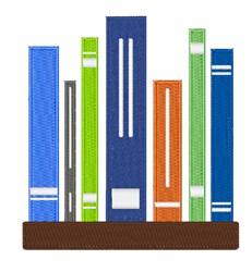 Book Shelf embroidery design