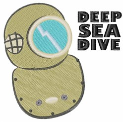 Deep Sea Dive embroidery design