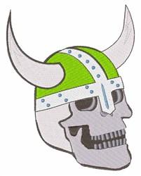 Viking Skull embroidery design