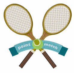 Point Match embroidery design