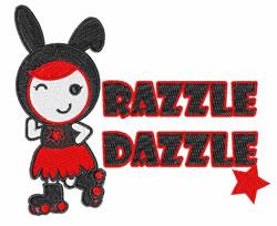 Razzle Dazzle embroidery design