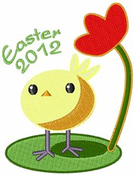 Easter 2012 embroidery design