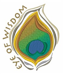 Eye of Wisdom embroidery design
