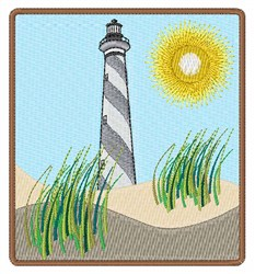 Lighthouse Scene embroidery design