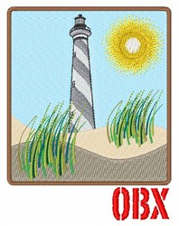 OBX embroidery design