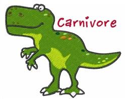 Carnivore embroidery design