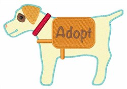 Adopt embroidery design