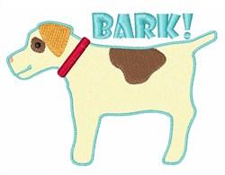 Bark embroidery design