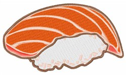 Salmon Sushi embroidery design