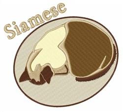 Siamese embroidery design