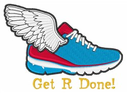 Get R Done embroidery design