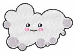 Happy Cloud embroidery design