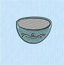 Small Bowl embroidery design