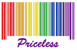 Priceless embroidery design