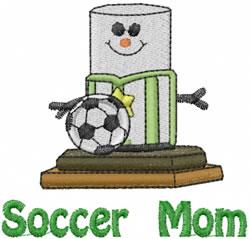 Soccer Mom embroidery design