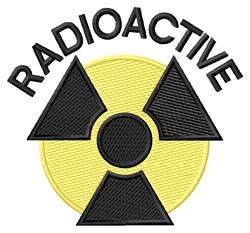 Radioactive embroidery design