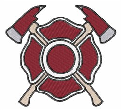 Fireman Logo embroidery design