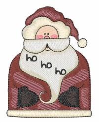 Santa Ho Ho embroidery design