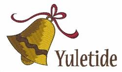 Yueltide Bell embroidery design