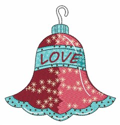 Love Ornament embroidery design