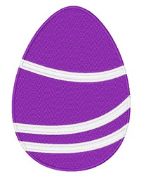 Decorated Easter Egg embroidery design