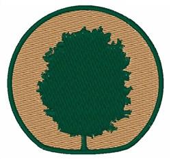 Tree Emblem embroidery design
