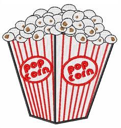 Popcorn Box embroidery design