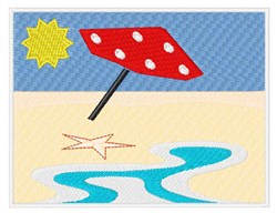 Beach Front embroidery design
