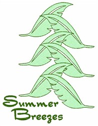 Summer Breezes embroidery design