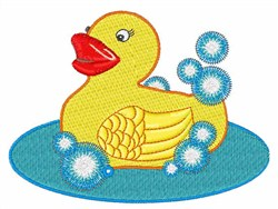 Rubber Ducky embroidery design