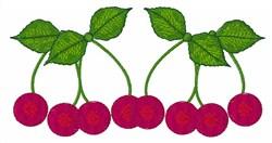 Cherries Border embroidery design