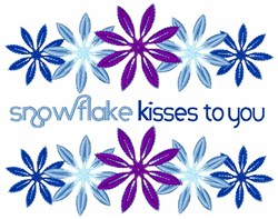 Kisses To You embroidery design