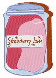 Strawberry Jam embroidery design