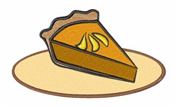 Slice of Pie embroidery design