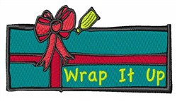 Wrap A Gift embroidery design