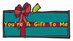 Youre A Gift embroidery design