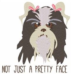 Pretty Face embroidery design