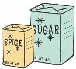 Spice Sugar embroidery design