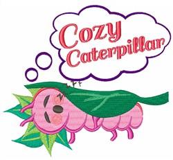 Cozy Caterpillar embroidery design