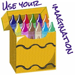 Immagination embroidery design