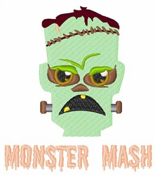 Monster Mash embroidery design