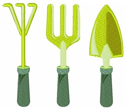 Garden Implements embroidery design