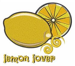 Lemon Lover embroidery design