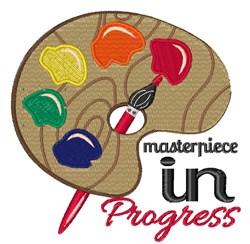 Masterpiece In Progress embroidery design