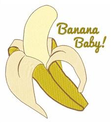 Banana Baby embroidery design