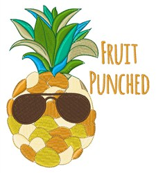 Fruit Punched embroidery design